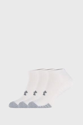 3 PÁR fehér zokni Under Armour Locut