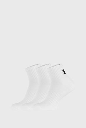3 PÁR fehér zokni Core Under Armour