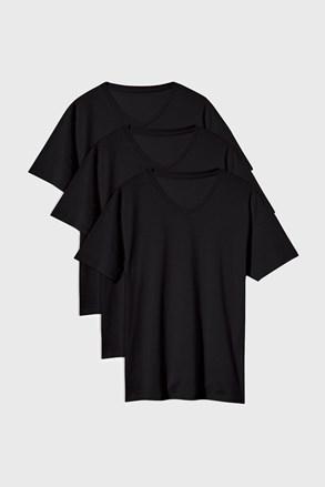 3 DB fekete póló Kane