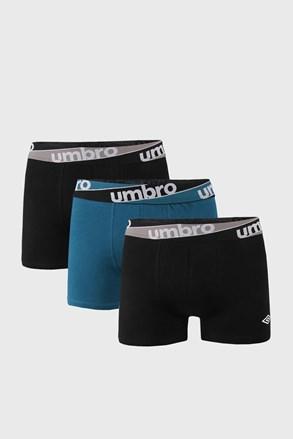 3 DB kék-fekete boxeralsó Umbro