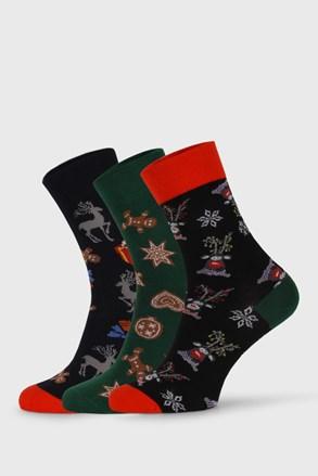 3 PÁR Despate karácsonyi zokni