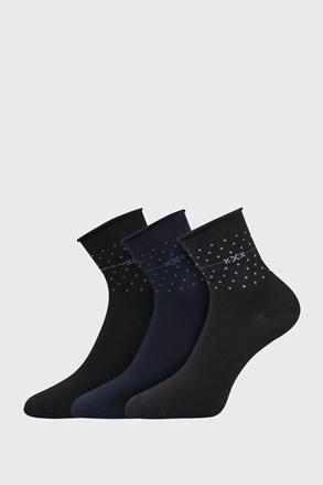 3 PÁR Flowi női zokni