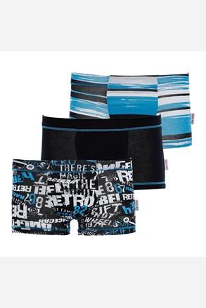 Blue fiú boxeralsó 3 db-os csomagolás