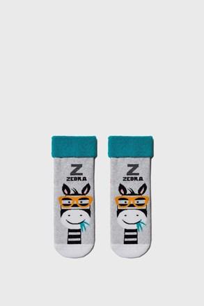 Gyermek zokni Zebra