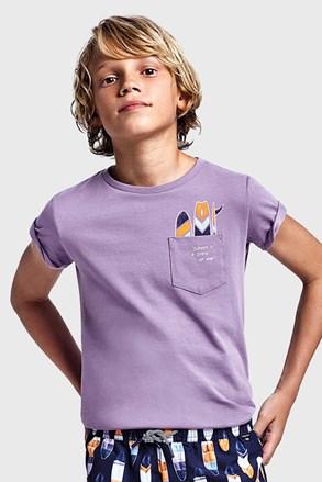 Mayoral Grape fiú póló lila
