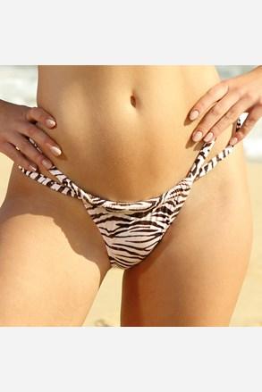 Zebra Thick Strap bikinialsó