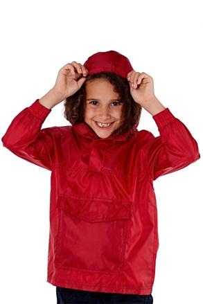 ProClimalite vízhatlan gyerek dzseki zsebben piros