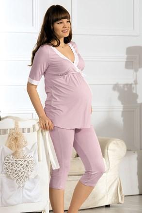 Beatrice kismama pizsama, szoptatáshoz