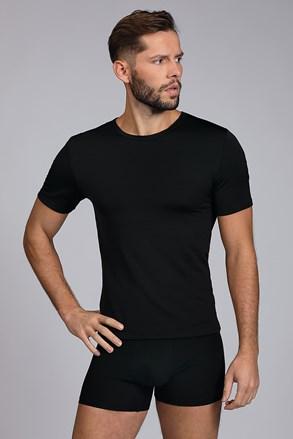 Fekete termó póló Short