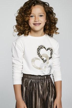 Mayoral Hearts hosszú ujjú lányka póló