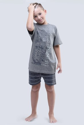 Live Untamed szürke fiú pizsama