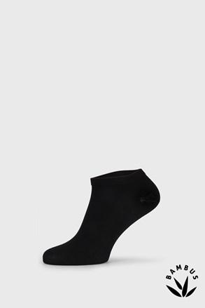Fekete bambusz zokni, alacsony