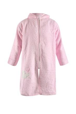 Blue Kids gyermek köntös, rózsaszínű elefánt