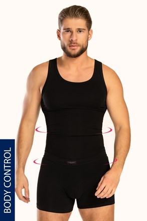 Alakformáló férfi alsó trikó kerek nyakkivágással, PLUS SIZE