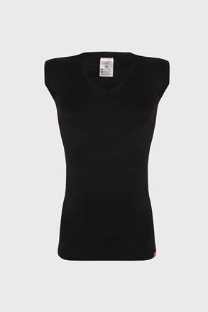 Fekete ujjatlan termo póló