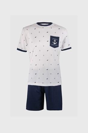 Kék-fehér pizsama Ancre