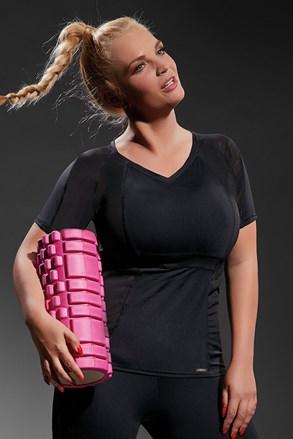 Active Black női sport póló