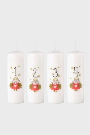 4 db adventi Angyal gyertyakészlet