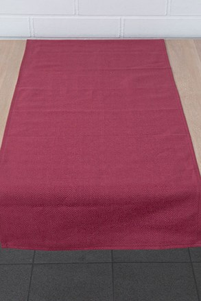 Home Design asztali futó, piros színben