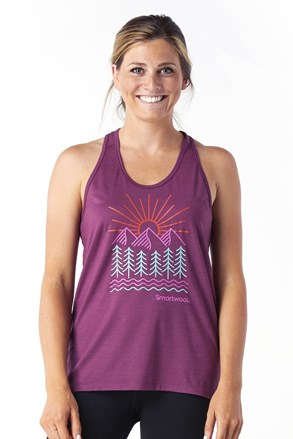 SMARTWOOL Merino Forest női sport trikó