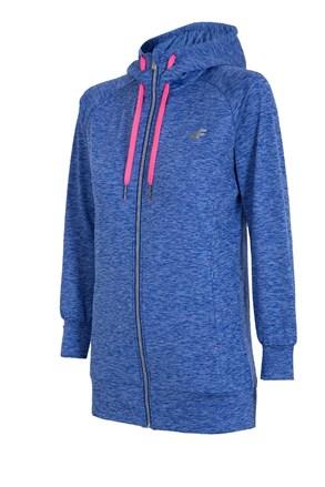 4f Dry Control Blue melange női sport szabadidő felső