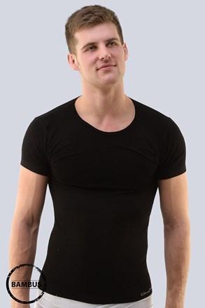 Bamboo PureLine Short férfi póló, varrások nélkül
