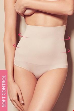 Alakformáló női alsó, magasított dupla derékrésszel