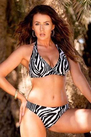 Borneo Zebra kétrészes női fürdőruha