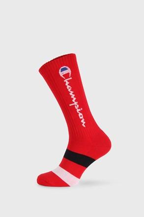 Piros magasabb szárú zokni Champion Rochester