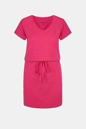 LOAP Blanka női ruha, rózsaszínű