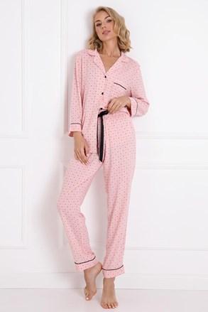 Charlotte női pizsama, hosszú