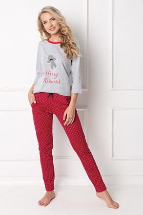 Cokkie női pizsama, hosszú