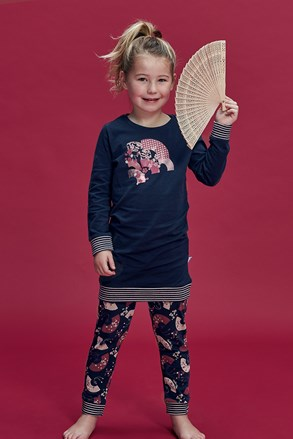 Flowery lányka pizsama