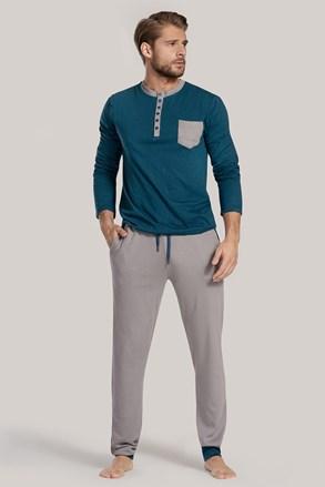 Kék-zöld pizsama Drew II