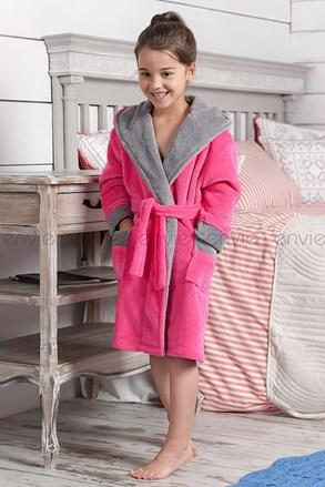 Delfino - rózsaszínű, gyerek köntös