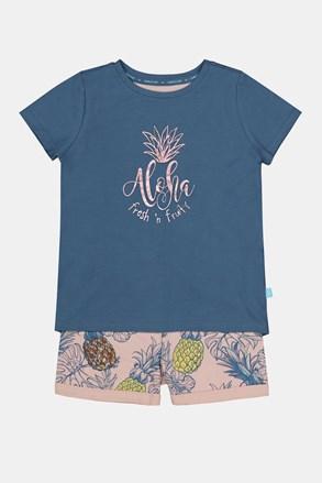 Aloha Pinneapple lányka pizsama