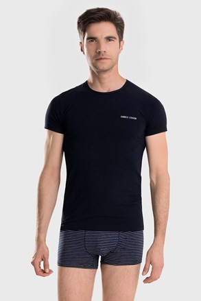 Kék férfi szett Alaric - póló és boxeralsó