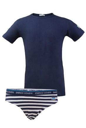 Enrico Coveri fiú alsónemű szett - póló és fecske alsó