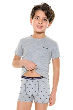 E. Coveri 4087 fiú alsónemű szett - póló és boxeralsó