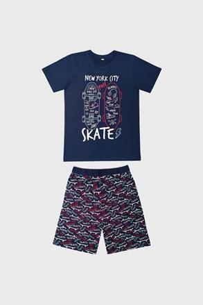 Skate sötétkék fiú pizsama