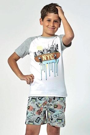 NYC fiú pizsama