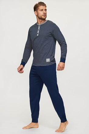 Kék csíkos pizsama Bart