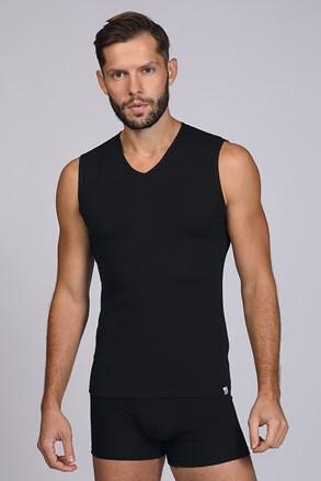 Fekete ujjatlan alsó trikó