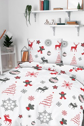 Snow karácsonyi flanel ágynemű