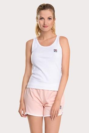 FILA French terry női szett, fehér-rózsaszín