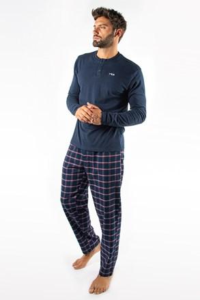 Sötétkék pizsama FILA Trevon