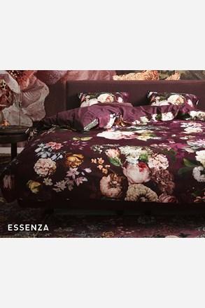 Essenza Home Fleur Burgundy ágyneműhuzat
