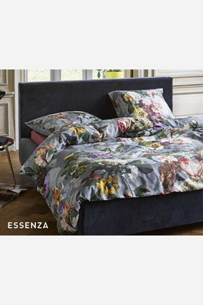 Essenza Home Fleur Faded Blue ágyneműhuzat