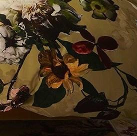 Essenza Home Fleur Gold Yellow ágyneműhuzat