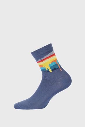 Coloring fiú zokni